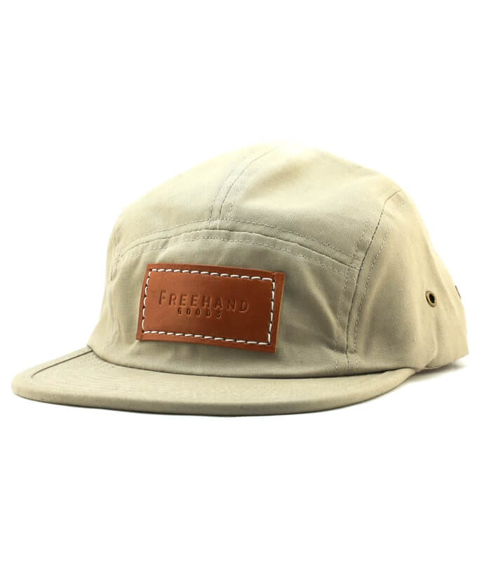 Khaki Camper 5 Panel Hat
