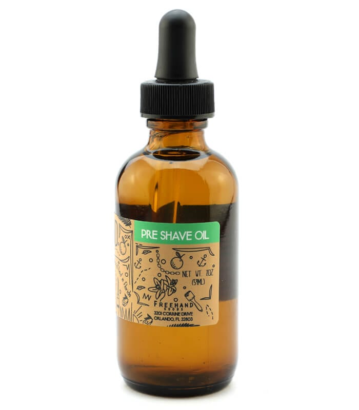 All Natural Pre Shave Oil