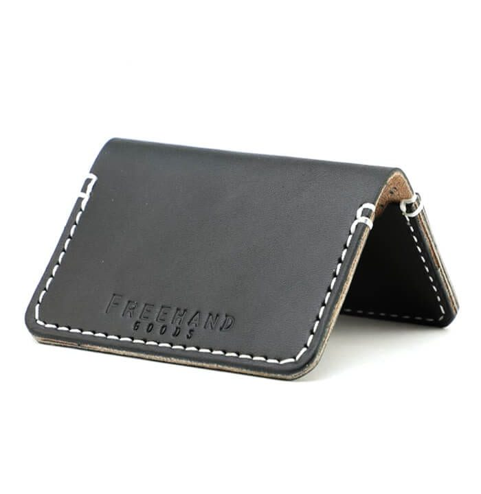 Black Mills Leather Cardholder